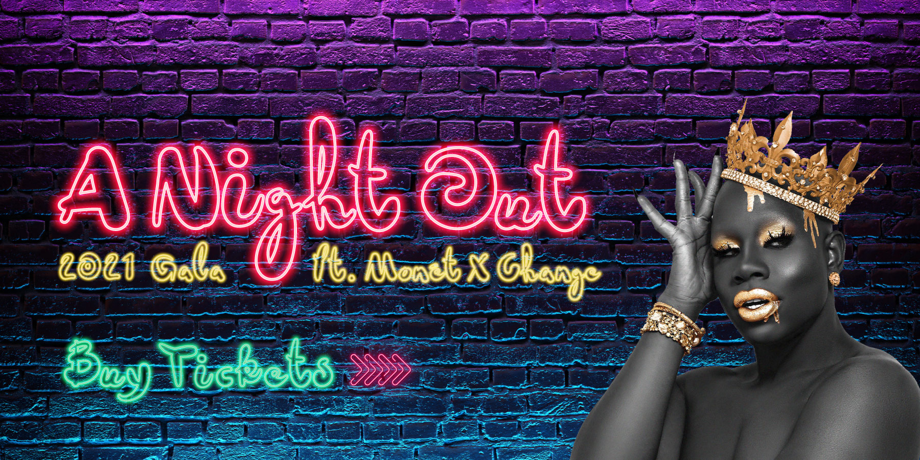 OutCare's 1st Annual Gala: A Night Out featuring Monet X Change